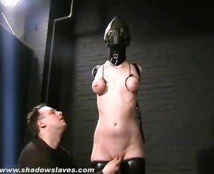 Hooded Painslut Cherry Torn Punished