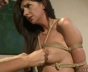 Mistress dominating gorgeous girl