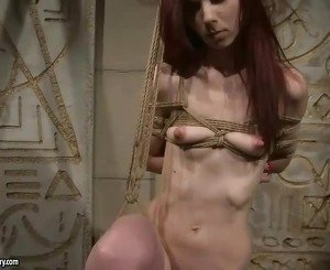 Mitress punishing gorgeous redhead