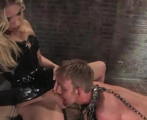 Forced Cooter Having And Pegging In Lady Domination Tied Nearby Jordan Kingsley