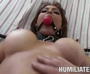 Bigtits MILF gets humiliated & fucked really hard
