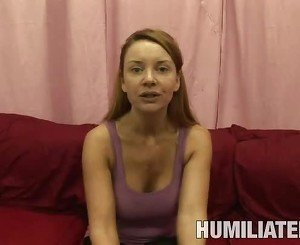 MILF gets her mouth filled up with cum after BDSM