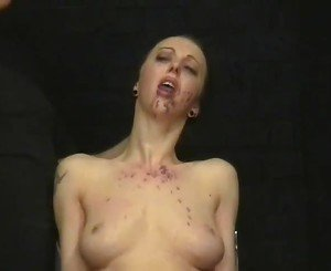 Crying Slaveslut Emily Sharpes Facial Pain