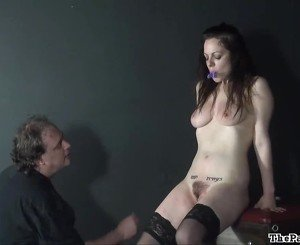 Hell pain whipping and amateur bdsm of tit torture