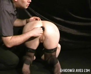 Rough slavesex and bizarre buttplugged domination