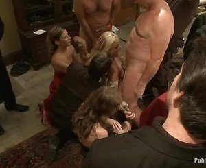 Hot siren acquires a excruciating group torture