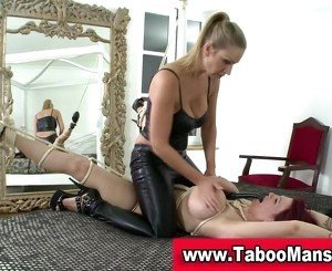 Bound Hoe Toyed: Free Lesbian HD Porn Video 9f -
