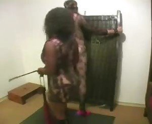 Slave in Body Suit Whipped by Domme, Free Porn 90: