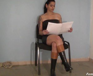 Cleaning for Madame Angela, Free BDSM HD Porn 34: