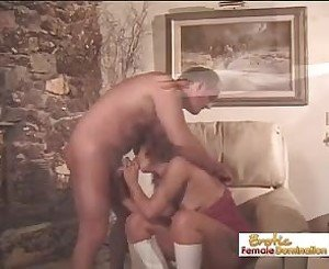 Mature Guy Cums Only after a Pegging, Porn 43: