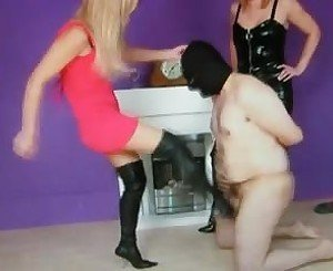 Ballkicking: Free BDSM Porn Video f5 -