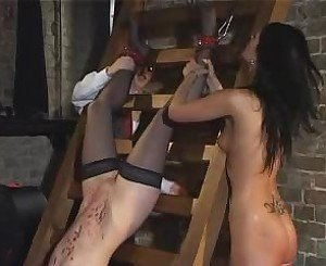 Two Hot Chicks and Their Master, Free Porn 35: