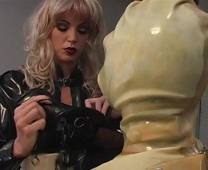 Maid Slut Placed in Latex, Free BDSM Porn db:
