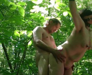 Tied to Trees Getting Fucked, Free MILF Porn e0: