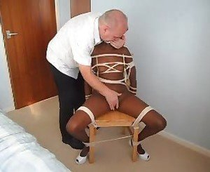 Chair Tied: Free BDSM & Bondage Porn Video a6 -