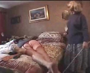Auntie Punishes Carl: Free BDSM Porn Video 12 -