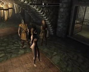 Perils of Escaped Skyrim Slavegirl 07, Porn f6: