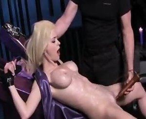 Tied Waxed and Vibed: Free BDSM Porn Video 87 -