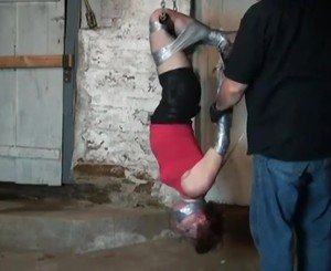 Duct Tape Hanging: Free BDSM HD Porn Video 49 -