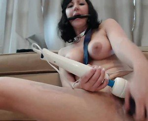 Self Torture with Hitachi, Free BDSM HD Porn 46: