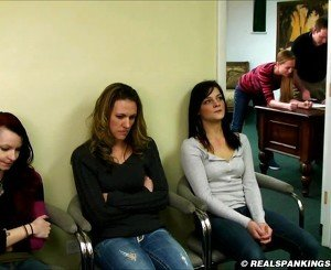 Four Girl School Corporal Punishment, HD Porn 61: