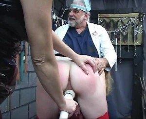Doctor and Horny Sluts Perform BDSM, Free Porn 14: