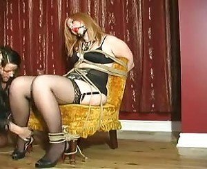Curvy Girl Tied: Free BDSM Porn Video c4 -