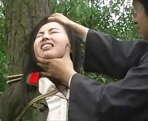 Chinese Army Girl Tied to Tree 1, Free Porn 3a: