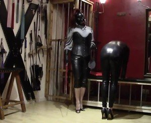 Leather Mistress Spandex Slave - 01, Free Porn 24: