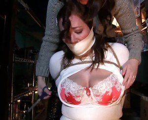 Riley and Jj Tied in the Bar, Free BDSM Porn ab: