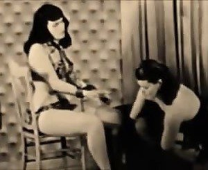 Betty Page - Spanked Slave Girl, Free Porn f7: