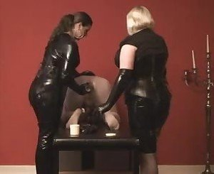 Sissy Slave Fisted by 2 Mistresses, Free Porn e3: