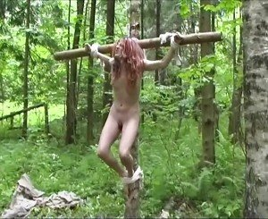 Lady and the Slave in the Forest, Free HD Porn db: