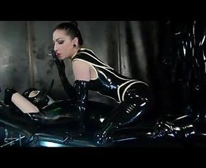 Latex Clad Smoke Filter, Free BDSM Porn Video e5: