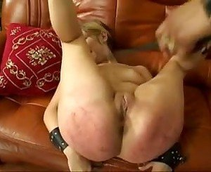Black Mistress Use Two Blond Slaves, Free Porn c0: