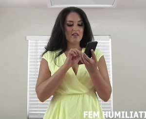 Suck on My Strapon Like a Good Sissy, HD Porn 9c: