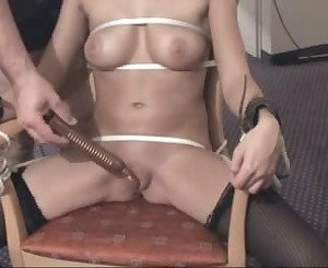 Tied to the Chair: Free Amateur Porn Video 1f -