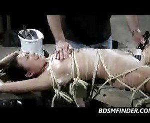 Tied Toyed and Hot Waxed, Free MILF Porn Video ee: