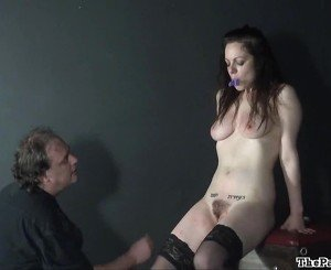 Hell Pain Whipping And Greenhorn Sadism Of Hooter Tortured Masochist Beauvoir In Explicit Pain. Mousetrap Nipple Clamps And Pegs Onto Her Pussy, A Whip Dancing Over Her Entire Frontal Shape Shape