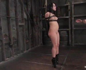 Rope  And Kinky Wired Torture In Dyke Babe Domination