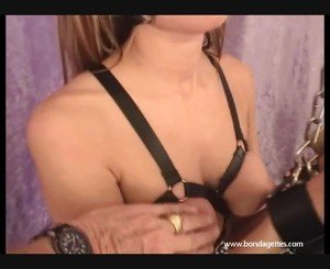 Perverted Damsel Inside Distress And Astounding Mature Bound Of Konnie Simons Inside Erotic Domination And Kinky Restraints