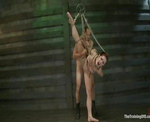Melody Jordan Is Tested Live For A Members To Decide If She Should Have A Full Training.