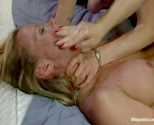 Spicy Mature Stepmom Is Punished, Fisted And Twofold Penetrated!