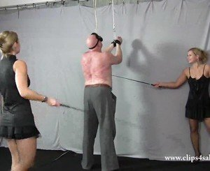 Cruel whipping