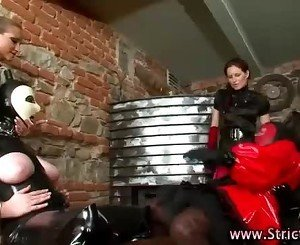 Femdom and lezdom action from mistress