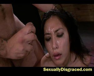 Mia Li Rough Deep Throat