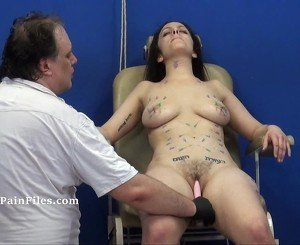 Extreme needle torture and merciless punishment of amateur slavegirl Beauvoir in hardcore bdsm and severe pain