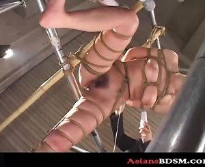 Black Baby Zero Hogtied With Wild Pussy Torture p1