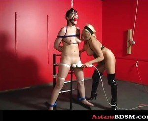 Hardcore Asian bondage p1
