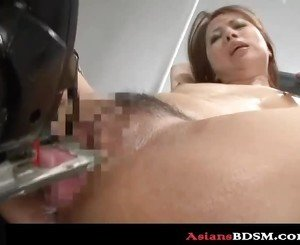 Hottie bounded with drenched pussy too p2